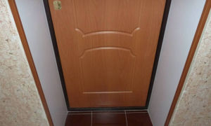 Откосы на входную дверь: как сделать самостоятельно?