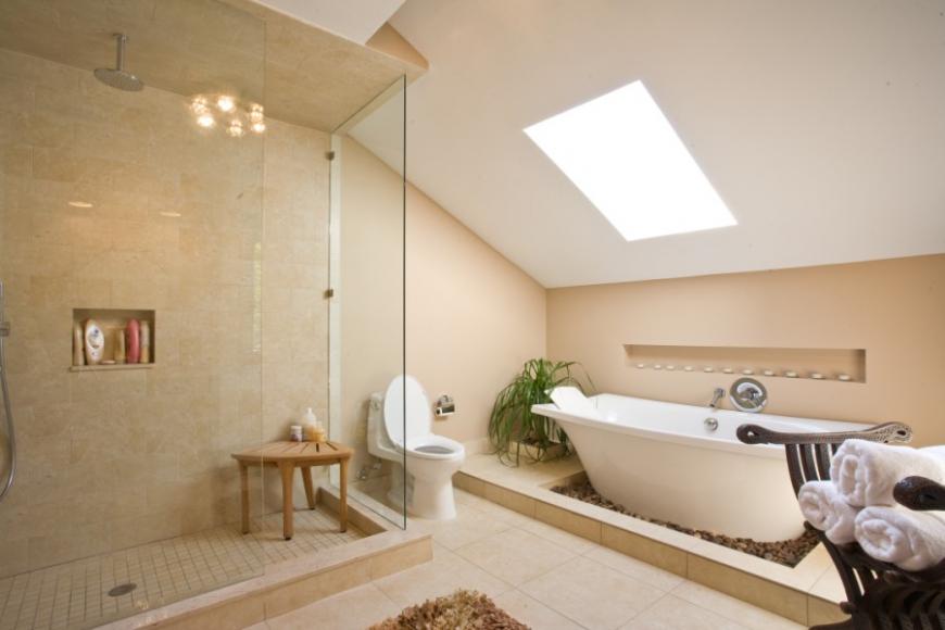 ванная за городом